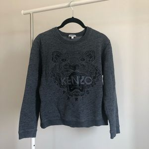 Kenzo Paris | Grey Tiger Sweater